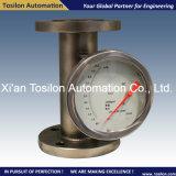ガス、水のためのスイッチが付いているデジタル金属の管の液体のロタメーター