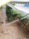 La masse de pieux en acier en aluminium anodisé Les supports de montage solaire