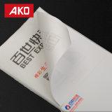 escrituras de la etiqueta de envío blancas impermeables de la escritura de la etiqueta de direccionamiento del trazador de líneas del papel cristal del trazador de líneas blanco del papel cristal 58g