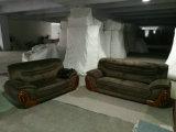 Nuevo sofá de la tela de la llegada fijado para los muebles de la sala de estar (2109#)