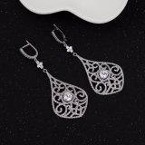 Мода Earring Elegent ювелирные изделия с ярким AAA CZ 925 серебряных украшений