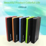 Il pacchetto di vendita caldo della batteria 15000mAh, OEM ha personalizzato il Portable la Banca di potere di 15000 mAh