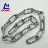 Aço inoxidável DIN5685c longa cadeia de Link