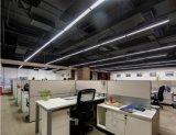 18W 20*1200cm Lamp van de Tegenhanger van het Bureau van de LEIDENE 95-265V 4500K de Rechte Lens van het Gezicht Commerciële