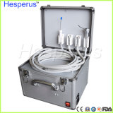 Orificios móviles Hesperus de la caja 4 del mini metal dental portable dental de la unidad