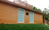 ハイエンド防水木のPEの壁パネル屋外WPCシート
