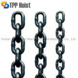 L'acciaio di alta qualità G80 ha saldato la catena a maglia rotonda Chain di sollevamento galvanizzata