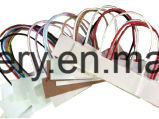 Completamente automaticamente sacco di carta d'alimentazione del rullo che fa macchina, sacchetto di carta della maniglia che fa macchina