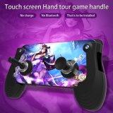 Manette de jeu mobile à écran tactile Sucker manche à balai de culbuteur pour Smartphone Ios