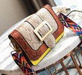 Nuovo sacchetto di spalla di cuoio stampato dell'unità di elaborazione della borsa di modo di arrivo 2017 serpente con la cinghia variopinta SY8530