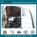 Carro del transporte de cargo de la estaca de la cerca de HOWO T5g 340HP 8X4