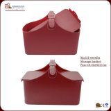 Roter Form-Leder-Ablagekasten (4005)