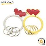 Кольцо красивейшего металла высокого качества ключевое (Y02438)