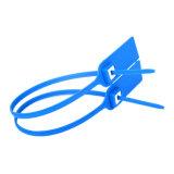 Selo plástico da segurança do saco postal inalterável