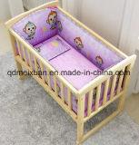 De stevige Houten Netten van het Bed van de Wieg van het Bureau van de Verandering van het Bed van het Bed van de Kinderen van de Kinderen van de Voederbak Houten kunnen een Kaart (m-X3703) plakken
