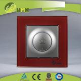 TUV CE CB Европейский стандарт сертифицированных закаленного стекла llight черного цвета переключателя света фар
