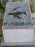 Populäres natürliches Marmorkunst-Mosaik für Hauptdekoration