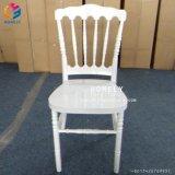 Bois de couleur blanche de gros napoléon Chiavari Tiffany Président