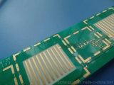 Prueba de confiabilidad amarilla baja de aluminio de la tarjeta del PWB de la máscara de la soldadura