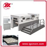 Máquina que corta con tintas automática de Flaten para el cartón de papel