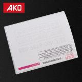 Étiquettes directes de logistique d'étiquettes d'expédition d'usine de papier de desserrage d'impression de fournisseur de la Chine