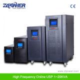 Zlpower de doble conversión en línea de alta frecuencia para servidores/Datecenter UPS/Telecomunicaciones/Banco/Hospital