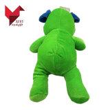 Usine de tissu vert bon marché de jouets en peluche pet