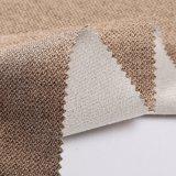 2018 100% telas de lino del sofá y de materia textil del poliester para China