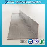 L'aluminium en aluminium de vente d'usine a expulsé profil du bâti BRITANNIQUE L forme d'entrée principale
