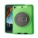 La caja a prueba de niños a prueba de choques de la armadura con gira el sostenedor para el aire del iPad