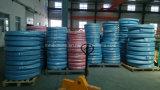 Fil d'acier recouvert de caoutchouc renforcé par une tresse le flexible hydraulique (SAE100 R2-5/16)