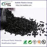 De zwarte Kleur pp baseerde Plastic Materiaal Masterbatch met Hoge Concentratie