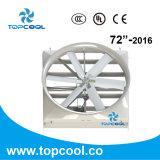Ventilateur Vhv72-2016 de Sotrm de cyclone de FRP particulièrement conçu pour la laiterie