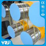 Plástico Waste que recicl a linha de produção grânulo da faixa da cinta da máquina que fazem a máquina