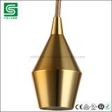 セリウムが付いている吊り下げ式ライトのためのE27型の金属ランプのホールダー