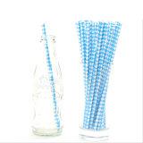 Paja de beber de papel respetuosa del medio ambiente modificada para requisitos particulares biodegradable disponible