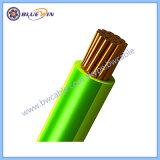 철사 색상 코드 빨간 브라운 전기 G/Y 암청색 Cu/PVC 450/750 케이블
