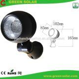 Ensemble de lumière solaire d'endroit de 2 lampes avec Egg-Shaped