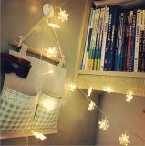 クリスマスの装飾の少しの雪の花LEDストリングライト