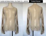 Señoras sexy angustiados Knitwear Top