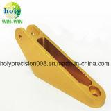 Het gouden het Anodiseren Wapen van de Schakelaar met het Metaal CNC die van het Aluminium Delen machinaal bewerken