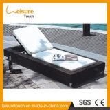 Nouveau Style Gris Gris Haute Lumière-Solide Plastique Bois Beach Piscine Chaise longue