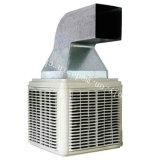 Dispositivo di raffreddamento di aria evaporativo fissato al muro per il workshop industriale