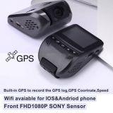 """熱い販売2.4 """"ソニーのブラックボックスが付いているHD1080p車のカメラ; Gセンサー; WDR; 夜間視界機能DVR-2408"""