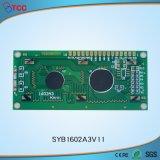 Pequeño tamaño 16*02 personaje COB panel LCD mostrar