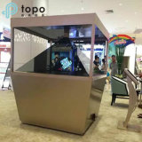 голографическая коробка индикации 3D моделирует стекло (HD360-TP)