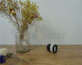 Varia venta al por mayor de cristal de cristal coloreada de la vela del tarro o de la taza, vela perfumada natural