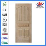 Кожа двери Veneer красного дуба твердой древесины естественная (JHK-005)