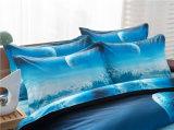 одеяло крышки Duvet печати 3D установленное Washable установило качество 100% Quilt хлопка Quiltcover и подгоняло