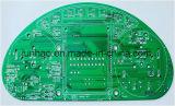 Grüne Schablone gedruckte Schaltkarte Doppelt-Seite Fr4PCB mit Vorstand Schaltkarte-2layer